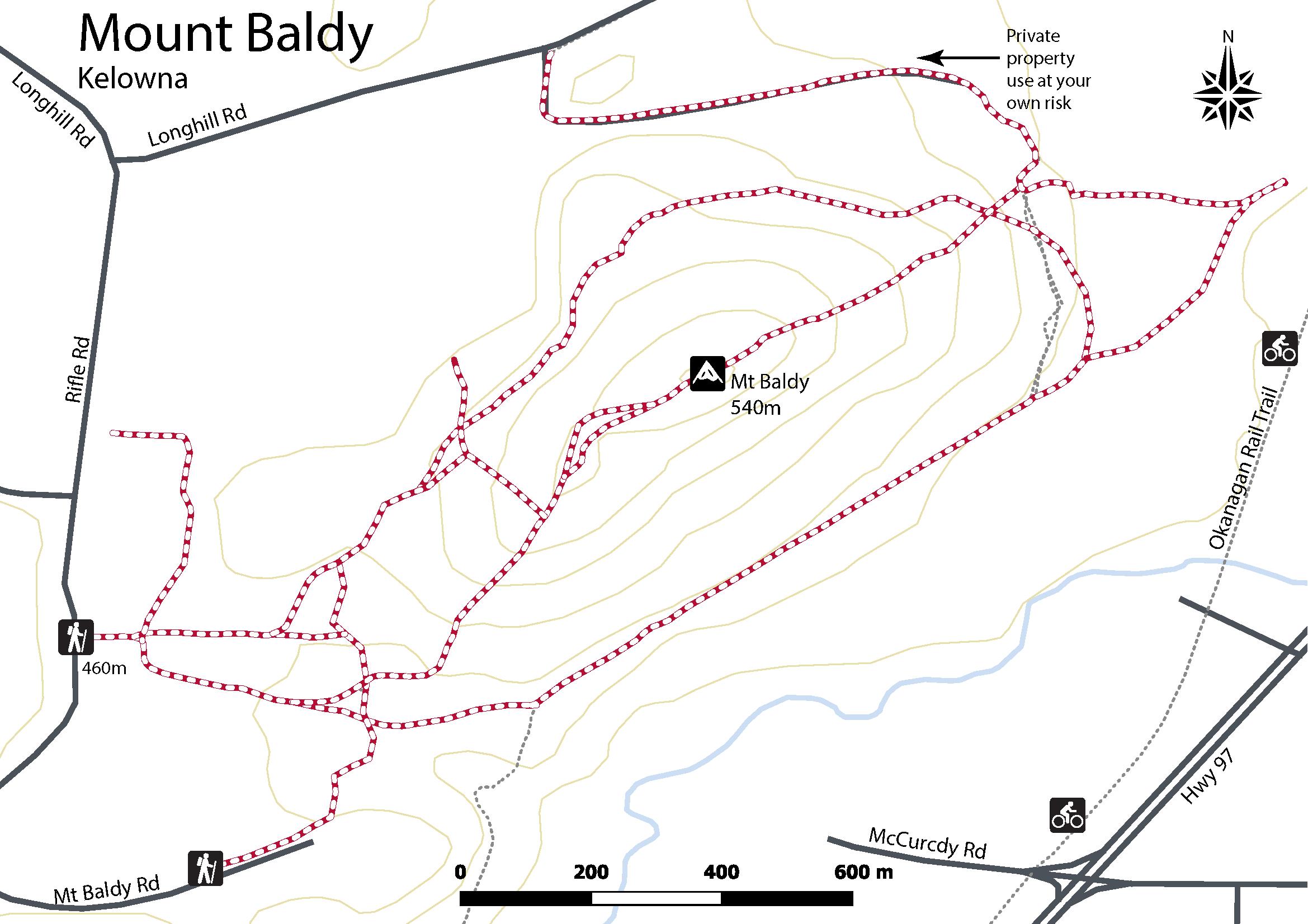 Mt Baldy in Kelowna