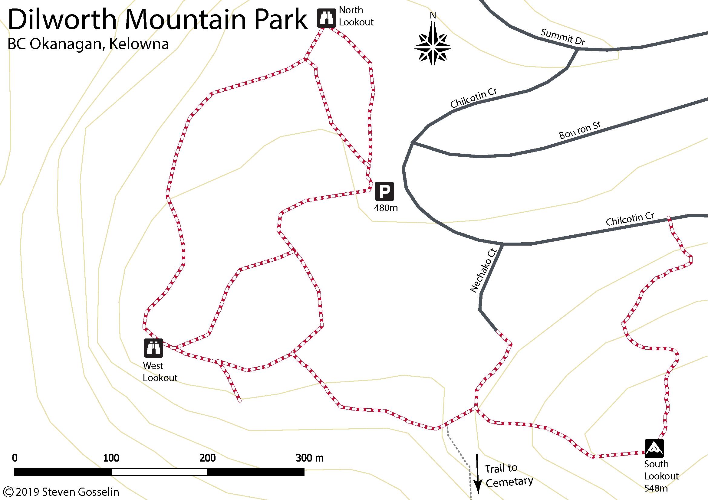 Dilworth Mountain Park